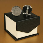 Lucky Sixpence Cufflink Sets 1920-1946 in a deluxe presentation box