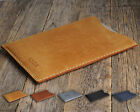 personalized leather ipad mini case - iPad Case PERSONALIZED Waxed Aged Leather Cover Sleeve Handsewn Rough Style Bag