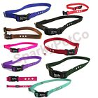 "Heavy Duty 1 "" 3 Hole Replacement Dog Bark Collar Nylon Strap with 2 RFA 67D"