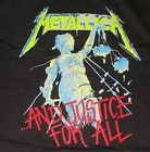 Metallica T-Shirt ...And Justice For All metal rock Official XL Last NWT