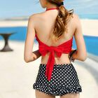 2016 Women's Swimwear Bikini Set Triangle Bandage Push-Up Padded Cute Beachwear