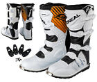 ONEAL RIDER MX Stiefel weiss 39 40 41 42 43 44 45 46 47 48 49 Motocross Boot