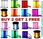 100 m ribbons 25 all Colour Balloon Helium Wedding Ribbons Birthday All occasion