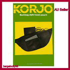 Korjo Secure Bumbag Travel Pouch 3 zip Passport Credit Card ID Ticket Money Belt