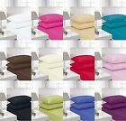 Queens Land Home Easycare & Long Lasting Pollycotton Fitted Sheet in All SIZES