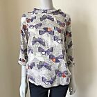 EX WHITE STUFF Flutterby Top SOLD OUT £40 UK 8 10 12 14 16 18 Liquidation Sale
