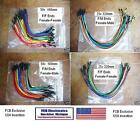 *FCB*USA  F/M F/F Flexible Jump Wires Female/Male Fem/Fem 160mm 320mm 25x 50x