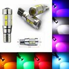 1/2/4X T10 Car Auto Bulb Error Free Canbus Standlicht Signal 6SMD LED Light Lamp