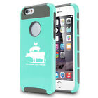 For iPhone SE 5 5s 5c 6 6s Shockproof Case Friends Not Food Vegan Animal Rights