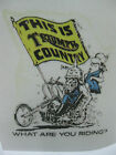 TRIUMPH COUNTRY STICKER  RAT ROD HOT ROD  CHOPPER  BOBBER $3.5 USD
