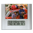 The Dukes of Hazzard General Lee Digital Wall Desk Clock with temperature, alarm