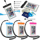 Underwater Waterproof Case Cover Purse Wallet Protect Phone from Sand Dust Dirt