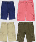 Boys shorts cargo trousers  M & S age  5 6 7 8 9 10 11 12 13 14 years