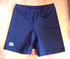 "RUSSELL VOLLEYBALL SHORTS LADIES NYLON SPANDEX 2"" SHORT BLACK XSMALL"