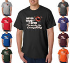 Never Trust An Atom They Make Up Everything Funny Geek Nerd  T-Shirt S-5XL