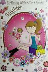 birthday cards  x  daughter(different design)  for grown-up,adult,