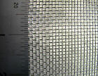 #12-Galvanised Steel Woven Mesh - 1.6mm Aperture - 0.5mm Wire- MULTI LISTING