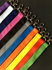 PLAIN BLANK COLOUR LANYARD CHEAPEST  NECK STRAP PASS I D HOLDER CHEAP KEY KEYS