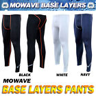 Mowave base layers long pants running gym hiking athletic sports pants SPF 50+