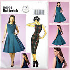 Butterick 6094 Sewing Pattern - Misses' Vintage Dress - Retro 50's - Easy to Sew