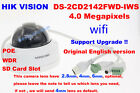 Hikvision English DS-2CD2142FWD-IWS 4MP IP camera security CCTV 2.8/4/6mm wifi