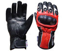Motorcycle Unisex Motorbike Professional Leather Gloves