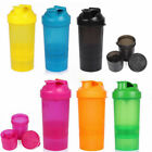 FITURBO PROTEIN GYM SHAKER PREMIUM 3 IN 1 SMART STYLE BLENDER MIXER CUP BOTTLE