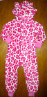 BNWT GIRLS NEXT PINK ALL-IN-ONE ANIMAL PRINT ONESIE 3 YEARS LOVELY AND SOFT