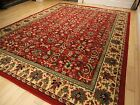 Large Traditional Area Rugs Carpet Oriental Rug 8x10 Red Rugs 5x8