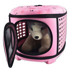 Portable and Foldable EVA Pet Carrier Small Dog Cat Travel Bag Cage Tote Crate