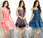 2016 new girl graduation women prom gown plus size evening cocktail party dress