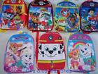 PAW PATROL Full Sized BACKPACK School Book Bag Tote Pouch MARSHALLChase Skye