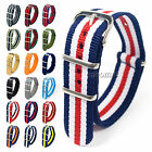 Nylon Watch Strap Band gb Military Army Diver 22mm, 24mm