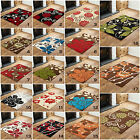 LARGE MODERN  200 X 290cm MULTI COLOUR HIGH QUALITY FLOWERY DESIGN DISCOUNT RUGS