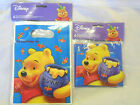 Party Bags OR Invitations Winnie The Pooh Loot Bags Disney Bags OR Invites NEW!