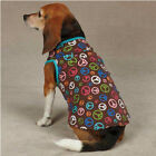 Multicolor Peace Out Tank Shirt Size Small/Medium Dog Clothing East Side