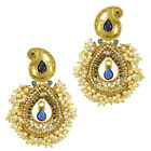 Pearl sets earrings bridal jewellery sets kundan Indian jewellery ABEA0312