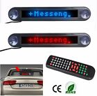 12v Car Scrolling LED Sign Display Board Programmable Moving Message Badge
