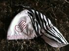 SHOCKER Zebra White Red Welding Hat Welder Hats Cap Protective American Hotties
