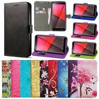 Alcatel One Touch Pixi 3 (4.5) Flip Wallet Leather Case Cover  comprar usado  Enviando para Brazil