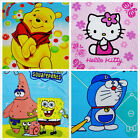Personalized Cartoon Baby Blanket Super Soft Kids Embroidered Throw Blankets