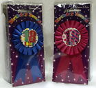 18th Birthday Badge Rosettes for girls and boys - Clearance Price