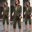 Womens Slim Evening Party Playsuit Ladies Romper Long Jumpsuit Size S-XL