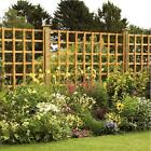 Heavy Duty Square Trellis Panel - Pressure Treated Timber Garden Various Sizes!
