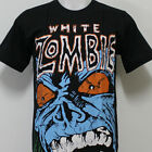 WHITE ZOMBIE Metal T-Shirt 100% Cotton New Size S M L XL 2XL 3XL