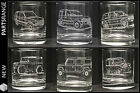 Glass Tumbler Land Range Rover P38 Classic Defender 90 110 V8 fathers day gift