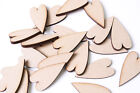 Wooden Primitive Tall Hearts Long Heart Shape MDF or Plywood  Wedding Crafts