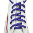 """Oval Sneakers Shoelaces """"Purple"""" 45"""" Athletic Shoelaces 1,2,4,6.12 Pairs"""