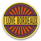 2 x Bordeaux France Vinyl Sticker Car Travel Luggage #9859