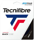 Tecnifibre Black Code Tennis String - Black - 12m - Free UK P&P